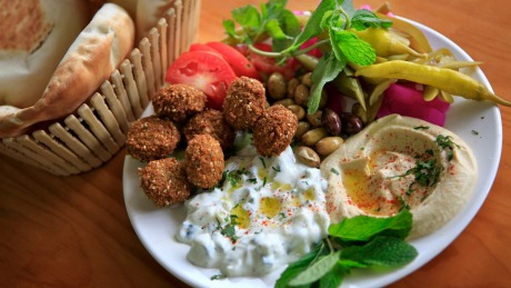 Falafel specialists: The falafel deal from Abbout Falafel House in Coburg.
