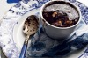 Self-saucing chocolate and hazelnut pudding. <a ...