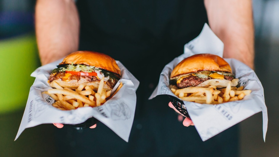 I'll take two, please: burgers from Burger Head, Penrith.