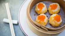 Scallop and prawn siu mai are the height of luxury.