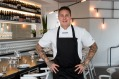 Chef/owner Tomi Bjorck at Blanca restaurant in Bondi.