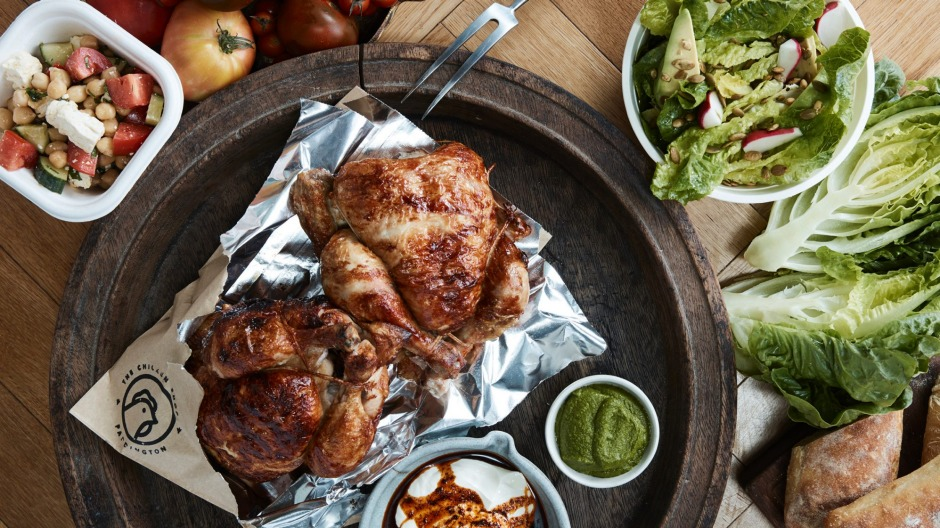 A classic roast chook from Merivale's Chicken Shop.
