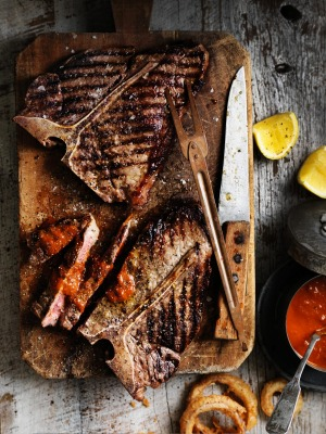 T-bone – or anything on the bone – is a winner on the grill.