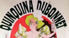 A poster for Dubonnet.