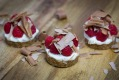 Raspberry tarts for Valentines Day.