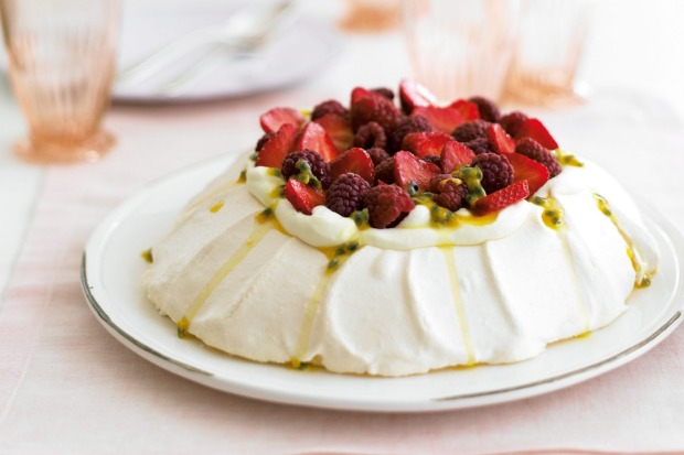 Soft peaks: a   mountain of meringue <a ...