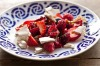 Deconstructed pavlova: Frank Camorra's star anise meringue, crushed berries and fromage frais <a ...