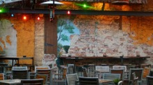 Toxteth Hotel Restaurant Outdoor Eating Area