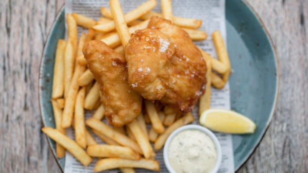 Great batter for fish is all about controlling the gluten formation.