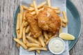 Oil for deep-frying fish and chips can be reused once or twice.