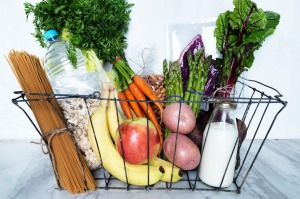 Shop with your doctor in mind and stock up on fruit, vegies and healthy wholegrains.