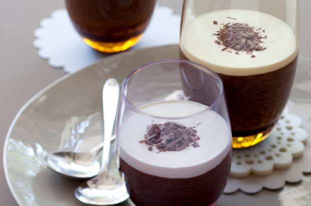 The retro Irish coffee is transformed into a cool, whisky laced coffee mousse. <a ...