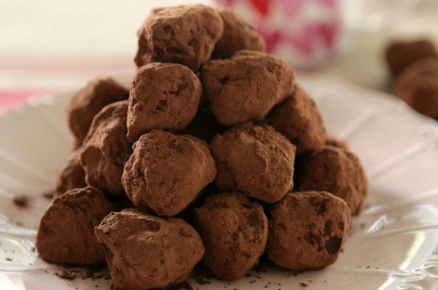 Truffles can be flavoured with just about anything, including coffee. <a ...