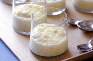 Cool rice pudding for warm weather.