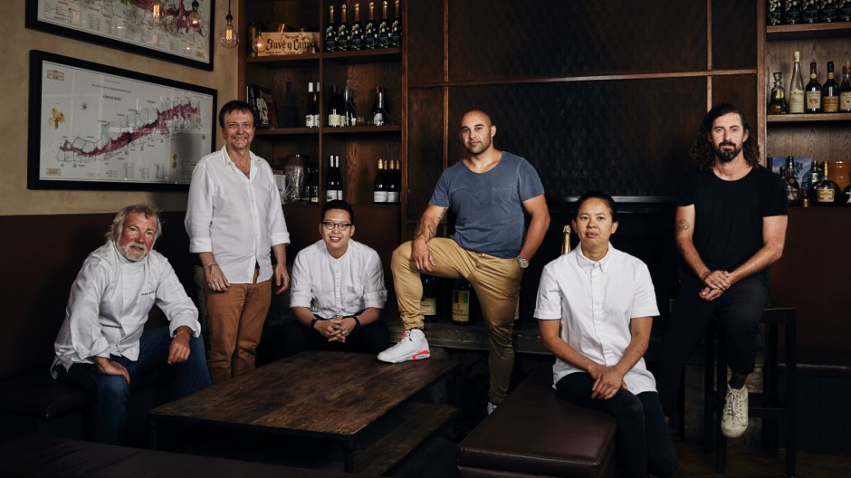 Chef Jacques Reymond, David Thompson, Victor Liong, Shane Delia, Thi Le and David Moyle will cook at the Melbourne gala.