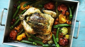 Roast chicken for summer.