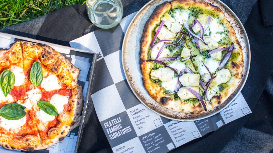 Fratelli Famous, the fast-casual pizzeria spin-off of Fratelli Fresh is open for business.