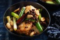 Food. Neil Perry's stir-fried blue-eye trevalla with peanuts and dried chilli. SMH GOOD WEEKEND Picture by WILLIAM ...