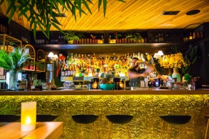 The old Bar Economico still slings rum, but more tropically