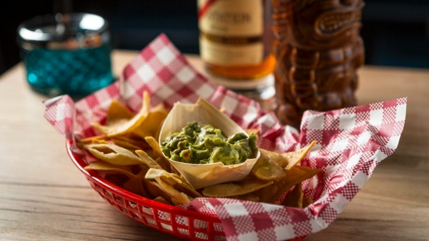 Guacamole and corn chips will be joined by loaded fries