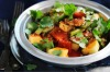 "Sweet and sour pork <a href=""http://www.goodfood.com.au/recipes/sweet-and-sour-pork-20120806-29tuj""><b>(recipe here)</b></a>."