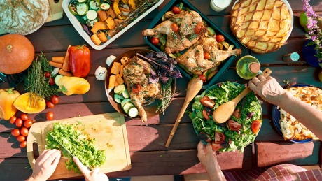 Dinner party ideas What do chefs cook when they have