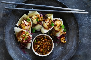 Silky, mouth-watering, delectable, clean-tasting wontons.
