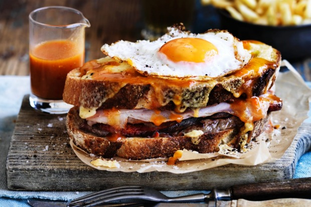 The Francesinha is Portugal's answer to the croque-madame. It's a meat-filled monster topped with egg and cheese and ...
