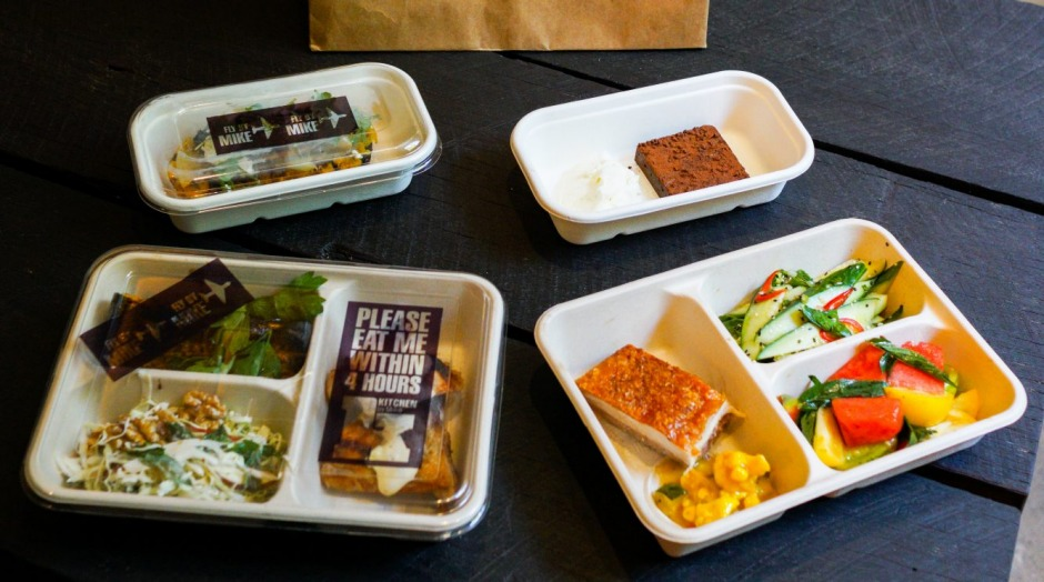 Kitchen by Mike has launched at the Sydney International Airport with Fly by Mike packs to take on flights.