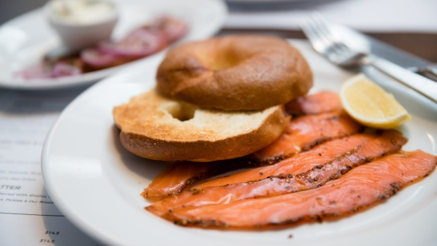 Go-to dish: Salmon pastrami and bagel.