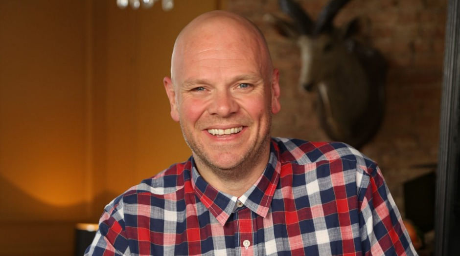 Trimmed down: British chef Tom Kerridge after losing more than 70 kilograms.