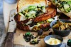 Eating your greens is easy with this green cheese toastie recipe. <a ...