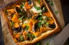 Pumpkin and taleggio cheese tart. <a ...