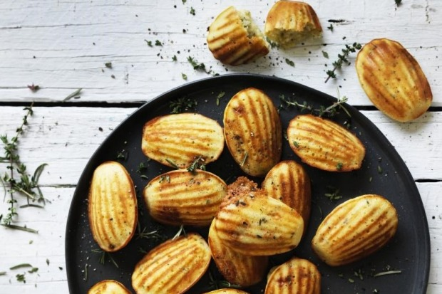 These blue cheese madeleines are perfect for nibbling on with a glass of wine. <a ...