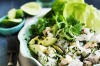 Ceviche seafood salad with avocado, coriander and chilli. <a ...