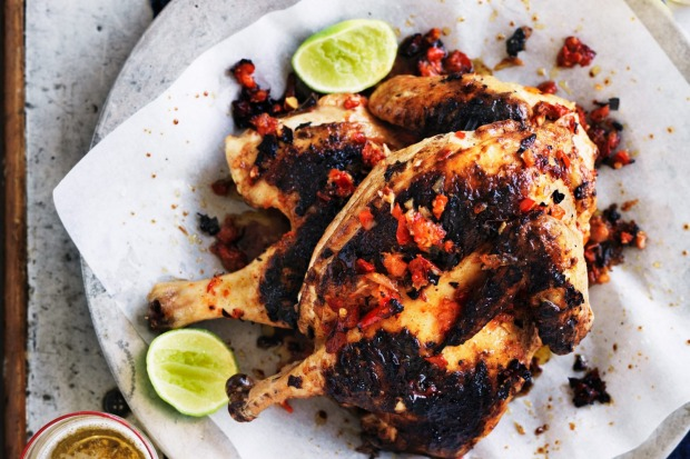 Neil Perry's barbecued spicy chicken <a ...