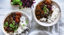 Neil Perry's miso curry of beef.