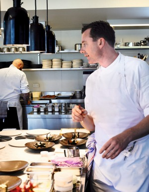 Dan Hunter describes his food as rustic and grounded.