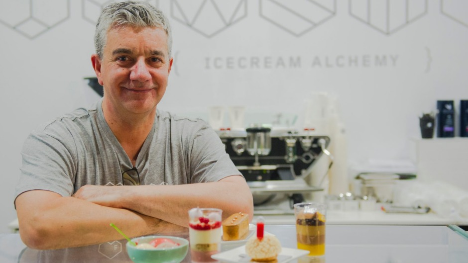 John Marshall has introduced Frugii Dessert Laboratory has opened its doors at Braddon. Proud owner John Marshall. The ...