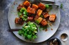 Kylie Kwong's caramelised pork belly with fresh finger limes and Sichuan pepper. <a ...