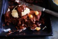 Dan Lepard's chocolate carrot brownie bar.