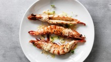 Tiger prawns will be served as part of the Taste of the Ocean event at Melbourne Food and Wine Festival.