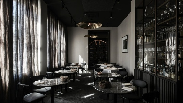 Inside the newly revamped Attica.