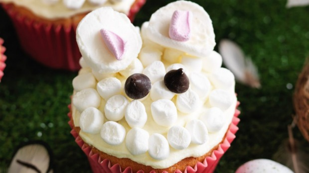 Easter Baking Recipe How To Make And Decorate Bunny Cupcakes