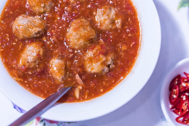 Step 1: Prepare your xiu mai by making meatballs from a combination of minced pork, water chestnuts, brown onion, salt, ...
