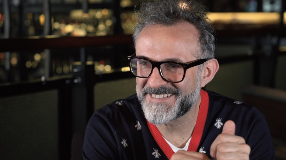 The constant surges of energy: Massimo Bottura.