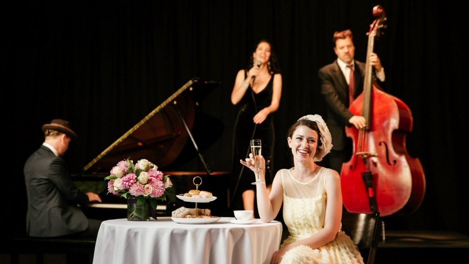 Riff on a theme: Jazz High Tea at the Arts Centre.