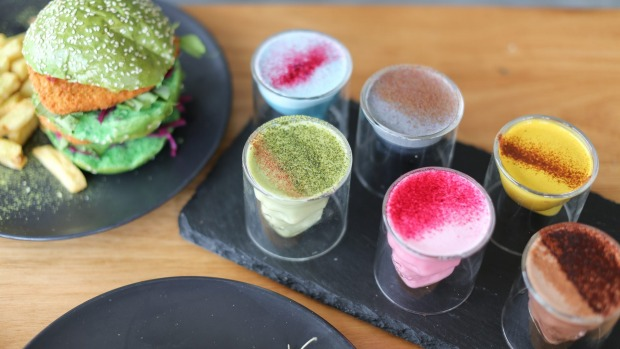 Matcha Mylkbar offers 10 super-food lattes, from matcha to turmeric.