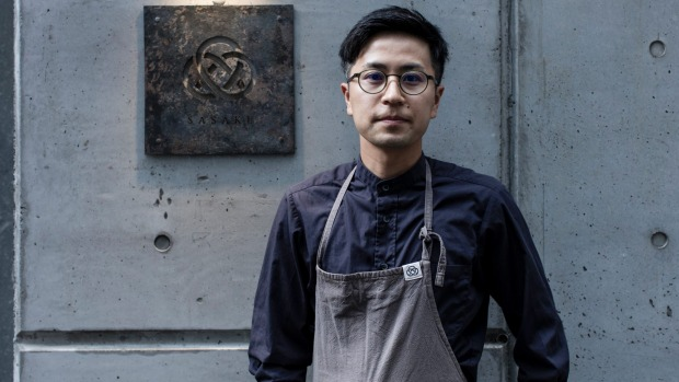Chef Yu Sasaki, who worked with Mark Best at Marque, has opened Restaurant Sasaki in Surry Hills.