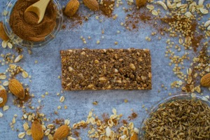 Upcycled: ReGrained's snack bars are made from spent brewing grains.